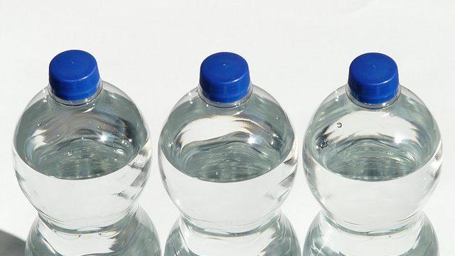woda z logiem